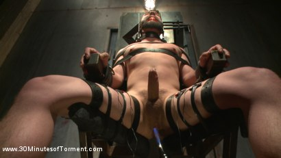 Photo number 10 from No Mercy for Jackson Fillmore: Beaten, Electrified, Humiliated & Fucked shot for 30 Minutes of Torment on Kink.com. Featuring Jackson Fillmore in hardcore BDSM & Fetish porn.