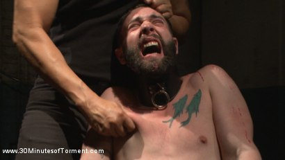 Photo number 14 from No Mercy for Jackson Fillmore: Beaten, Electrified, Humiliated & Fucked shot for 30 Minutes of Torment on Kink.com. Featuring Jackson Fillmore in hardcore BDSM & Fetish porn.