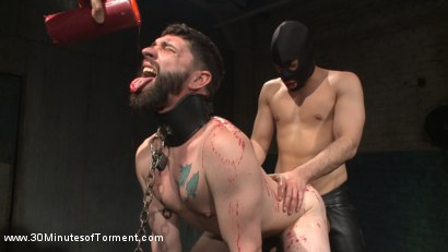 Photo number 3 from No Mercy for Jackson Fillmore: Beaten, Electrified, Humiliated & Fucked shot for 30 Minutes of Torment on Kink.com. Featuring Jackson Fillmore in hardcore BDSM & Fetish porn.