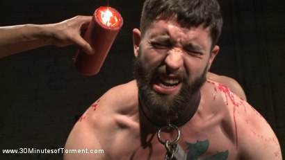 Photo number 4 from No Mercy for Jackson Fillmore: Beaten, Electrified, Humiliated & Fucked shot for 30 Minutes of Torment on Kink.com. Featuring Jackson Fillmore in hardcore BDSM & Fetish porn.