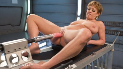 Photo number 1 from Darling is Machine Fucked in Her Pussy and Ass with Squirting Orgasms! shot for Fucking Machines on Kink.com. Featuring Dee Williams in hardcore BDSM & Fetish porn.