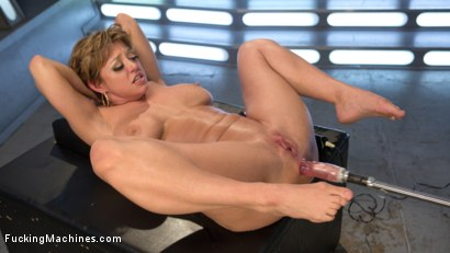 Photo number 12 from Darling is Machine Fucked in Her Pussy and Ass with Squirting Orgasms! shot for Fucking Machines on Kink.com. Featuring Dee Williams in hardcore BDSM & Fetish porn.