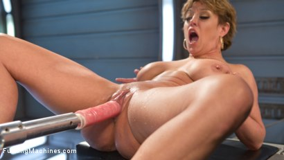Photo number 3 from Darling is Machine Fucked in Her Pussy and Ass with Squirting Orgasms! shot for Fucking Machines on Kink.com. Featuring Dee Williams in hardcore BDSM & Fetish porn.