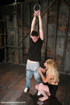 Photo number 1 from Jesse and CJ shot for TS Seduction on Kink.com. Featuring CJ and Jesse in hardcore BDSM & Fetish porn.