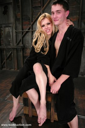 Photo number 15 from Jesse and CJ shot for TS Seduction on Kink.com. Featuring CJ and Jesse in hardcore BDSM & Fetish porn.