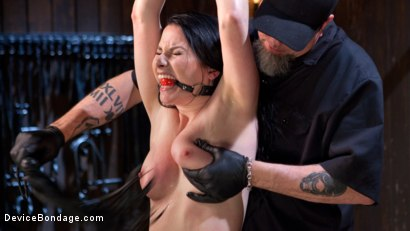 Photo number 15 from Captive Pain Slut Gives it All Away! shot for Device Bondage on Kink.com. Featuring Veruca James and The Pope in hardcore BDSM & Fetish porn.