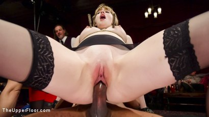 Photo number 7 from Virginal Pussy Slave Fucked For First Time on Camera shot for The Upper Floor on Kink.com. Featuring Juliette March, Dolly Leigh and Mickey Mod in hardcore BDSM & Fetish porn.