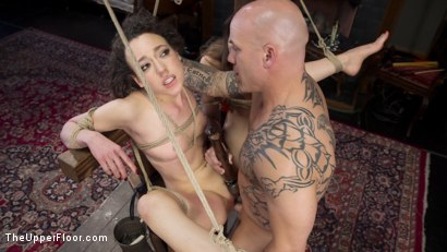Photo number 13 from Gorgeous Kink Photographer Gets Curious... shot for The Upper Floor on Kink.com. Featuring Dani Daniels, Lilith Luxe and Derrick Pierce in hardcore BDSM & Fetish porn.