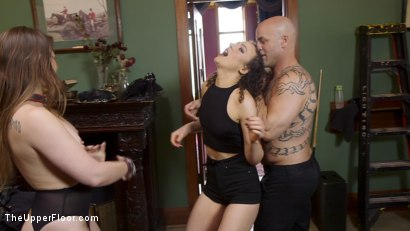 Photo number 21 from Gorgeous Kink Photographer Gets Curious... shot for The Upper Floor on Kink.com. Featuring Dani Daniels, Lilith Luxe and Derrick Pierce in hardcore BDSM & Fetish porn.
