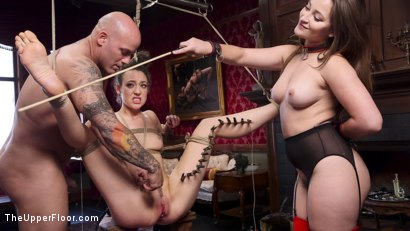 Photo number 2 from Gorgeous Kink Photographer Gets Curious... shot for The Upper Floor on Kink.com. Featuring Dani Daniels, Lilith Luxe and Derrick Pierce in hardcore BDSM & Fetish porn.