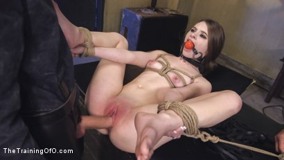 Photo number 12 from Cute Submissive Slut Earns Cock shot for The Training Of O on Kink.com. Featuring Owen Gray and Alice March in hardcore BDSM & Fetish porn.
