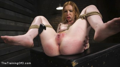 Photo number 11 from Hot Redhead Katy Kiss Trained to be a Better Slut shot for The Training Of O on Kink.com. Featuring Katy Kiss and Tommy Pistol in hardcore BDSM & Fetish porn.