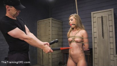 Photo number 2 from Squirting Slut April Brooks Trained to Control Her Pussy shot for The Training Of O on Kink.com. Featuring April Brookes and Owen Gray in hardcore BDSM & Fetish porn.