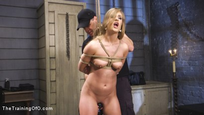 Photo number 4 from Squirting Slut April Brooks Trained to Control Her Pussy shot for The Training Of O on Kink.com. Featuring April Brookes and Owen Gray in hardcore BDSM & Fetish porn.