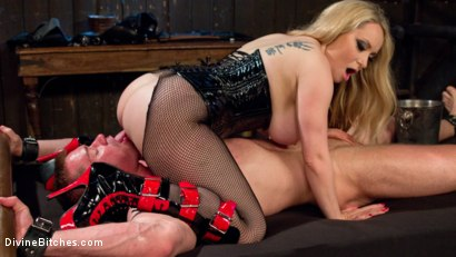 Photo number 15 from Denied and Begging! shot for Divine Bitches on Kink.com. Featuring Aiden Starr and Beau Warner in hardcore BDSM & Fetish porn.