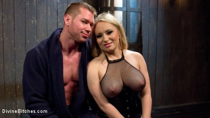 Photo number 8 from Denied and Begging! shot for Divine Bitches on Kink.com. Featuring Aiden Starr and Beau Warner in hardcore BDSM & Fetish porn.