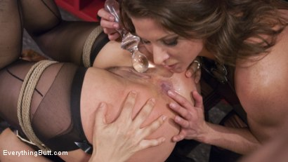 Photo number 4 from Ariel X Destroys Angel Allwood's Asshole after she wins it as a prize shot for Everything Butt on Kink.com. Featuring Angel Allwood and Ariel X in hardcore BDSM & Fetish porn.