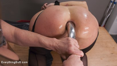 Photo number 6 from Ariel X Destroys Angel Allwood's Asshole after she wins it as a prize shot for Everything Butt on Kink.com. Featuring Angel Allwood and Ariel X in hardcore BDSM & Fetish porn.