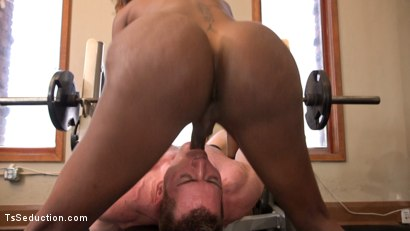Photo number 30 from Natassia Dreams pumps her cock deep into muscle boys hungry asshole! shot for TS Seduction on Kink.com. Featuring Natassia Dreams and Beau Warner in hardcore BDSM & Fetish porn.