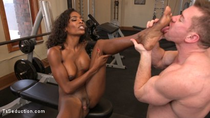Photo number 5 from Natassia Dreams pumps her cock deep into muscle boys hungry asshole! shot for TS Seduction on Kink.com. Featuring Natassia Dreams and Beau Warner in hardcore BDSM & Fetish porn.