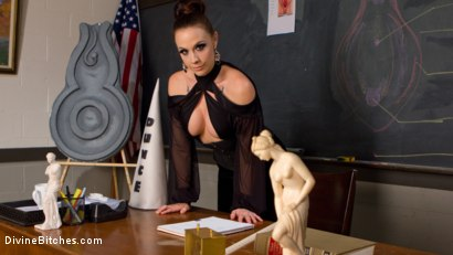 Photo number 2 from SCUM shot for Divine Bitches on Kink.com. Featuring Chanel Preston and Grayson in hardcore BDSM & Fetish porn.
