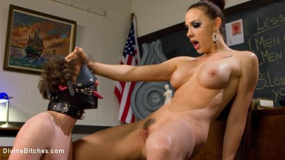 Photo number 9 from SCUM shot for Divine Bitches on Kink.com. Featuring Chanel Preston and Grayson in hardcore BDSM & Fetish porn.