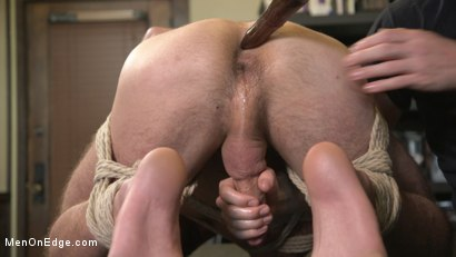 Photo number 8 from New Kink Stud gets Private Edging Session on His First Day at Work shot for Men On Edge on Kink.com. Featuring Tryp Bates in hardcore BDSM & Fetish porn.