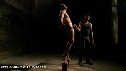 Photo number 9 from Tryp Bates Struggles Against Excruciating Pain and Water Torment shot for 30 Minutes of Torment on Kink.com. Featuring Tryp Bates in hardcore BDSM & Fetish porn.