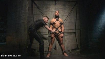 Photo number 3 from Mr Keys beats and fucks tough new slave shot for Bound Gods on Kink.com. Featuring Sebastian Keys and Mike Maverick in hardcore BDSM & Fetish porn.