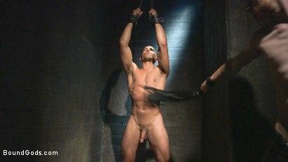 Photo number 4 from Mr Keys beats and fucks tough new slave shot for Bound Gods on Kink.com. Featuring Sebastian Keys and Mike Maverick in hardcore BDSM & Fetish porn.