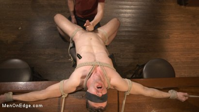 Photo number 5 from Cancelled Birthday Party Becomes a Messy Edging Party shot for Men On Edge on Kink.com. Featuring Brandon Blake in hardcore BDSM & Fetish porn.