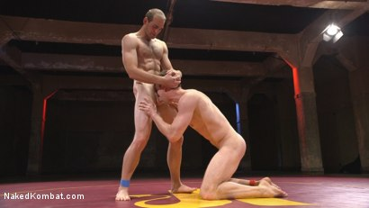 Photo number 10 from Hung cocks, hungry for the win: Brandon Blake vs. Jonah Marx shot for Naked Kombat on Kink.com. Featuring Brandon Blake and Jonah Marx in hardcore BDSM & Fetish porn.