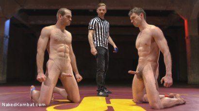 Photo number 15 from Hung cocks, hungry for the win: Brandon Blake vs. Jonah Marx shot for Naked Kombat on Kink.com. Featuring Brandon Blake and Jonah Marx in hardcore BDSM & Fetish porn.