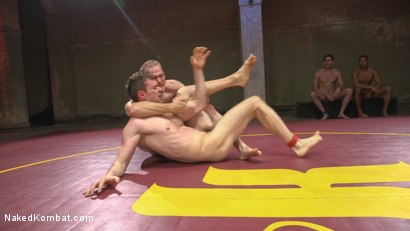 Photo number 3 from Hung cocks, hungry for the win: Brandon Blake vs. Jonah Marx shot for Naked Kombat on Kink.com. Featuring Brandon Blake and Jonah Marx in hardcore BDSM & Fetish porn.