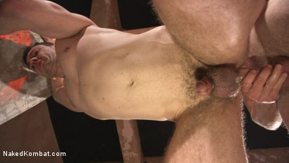 Photo number 6 from Hung cocks, hungry for the win: Brandon Blake vs. Jonah Marx shot for Naked Kombat on Kink.com. Featuring Brandon Blake and Jonah Marx in hardcore BDSM & Fetish porn.