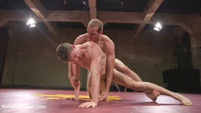 Photo number 7 from Hung cocks, hungry for the win: Brandon Blake vs. Jonah Marx shot for Naked Kombat on Kink.com. Featuring Brandon Blake and Jonah Marx in hardcore BDSM & Fetish porn.