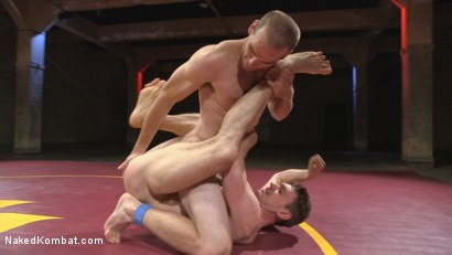 Photo number 8 from Hung cocks, hungry for the win: Brandon Blake vs. Jonah Marx shot for Naked Kombat on Kink.com. Featuring Brandon Blake and Jonah Marx in hardcore BDSM & Fetish porn.