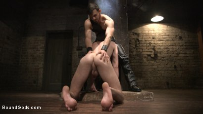 Photo number 14 from Mr. Maddox's Brutal Night of Torment for his New Slave shot for Bound Gods on Kink.com. Featuring Jason Maddox and Jack Hunter in hardcore BDSM & Fetish porn.