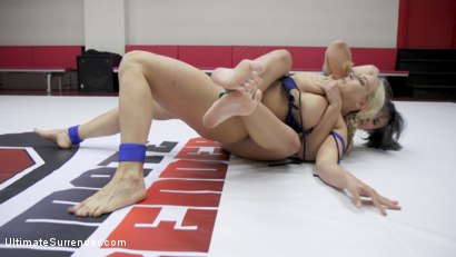 Photo number 5 from MILF round Robin Erotic WRestling tournament shot for Ultimate Surrender on Kink.com. Featuring Wenona, Penny Barber and Angel Allwood in hardcore BDSM & Fetish porn.