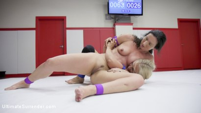 Photo number 8 from MILF round Robin Erotic WRestling tournament shot for Ultimate Surrender on Kink.com. Featuring Wenona, Penny Barber and Angel Allwood in hardcore BDSM & Fetish porn.