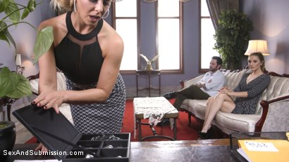 Photo number 1 from Anal Therapy shot for Sex And Submission on Kink.com. Featuring Cherie DeVille, Tommy Pistol and Mona Wales in hardcore BDSM & Fetish porn.