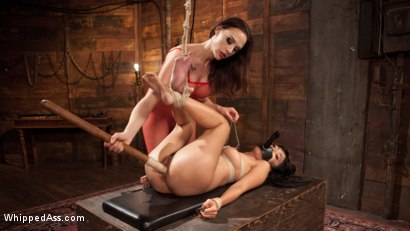 Photo number 9 from Chanel Preston's Hot Little Toy! shot for Whipped Ass on Kink.com. Featuring Chanel Preston and Marica Hase in hardcore BDSM & Fetish porn.