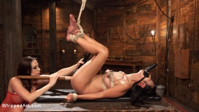 Photo number 10 from Chanel Preston's Hot Little Toy! shot for Whipped Ass on Kink.com. Featuring Chanel Preston and Marica Hase in hardcore BDSM & Fetish porn.