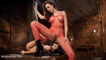Photo number 11 from Chanel Preston's Hot Little Toy! shot for Whipped Ass on Kink.com. Featuring Chanel Preston and Marica Hase in hardcore BDSM & Fetish porn.