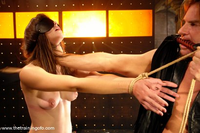 Photo number 3 from Training Report, Day Three of Four shot for The Training Of O on Kink.com. Featuring Bobbi Starr and Evan Stone in hardcore BDSM & Fetish porn.