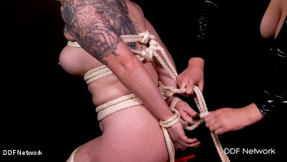 Photo number 12 from Bondage Suspension and Payback shot for DDF Network on Kink.com. Featuring  in hardcore BDSM & Fetish porn.