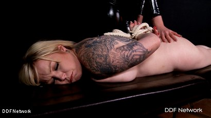 Photo number 4 from Bondage Suspension and Payback shot for DDF Network on Kink.com. Featuring  in hardcore BDSM & Fetish porn.