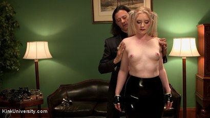 Photo number 4 from Collaring: The Bond Beyond the Bondage shot for Kink University on Kink.com. Featuring Sir Nik and Dresden in hardcore BDSM & Fetish porn.