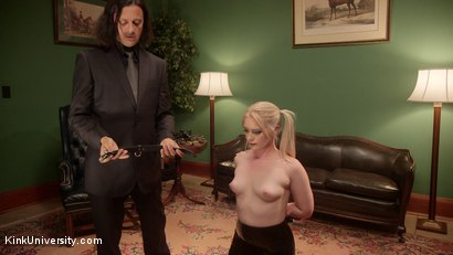 Photo number 6 from Collaring: The Bond Beyond the Bondage shot for Kink University on Kink.com. Featuring Sir Nik and Dresden in hardcore BDSM & Fetish porn.