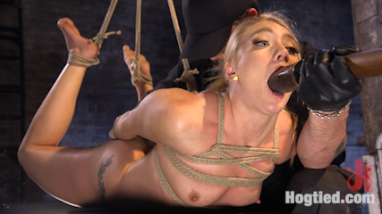 image Blonde babe decimated in a powerful suck and fuck session